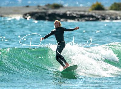 9/20/2020 - Surfing - Gooch's Beach - Kennebunk, Maine