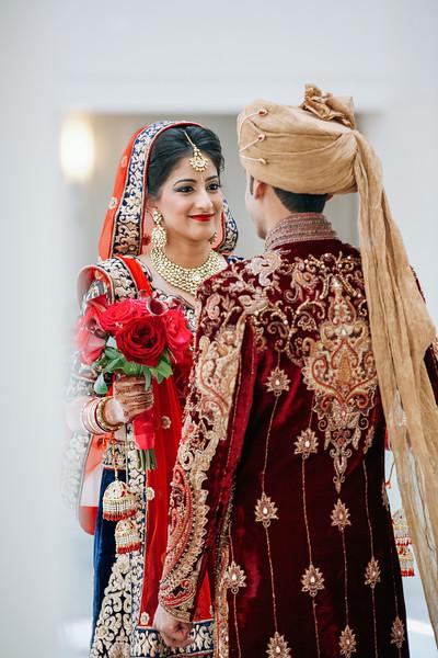 Le Cape Weddings - Indian Wedding - Day 4 - Megan and Karthik First Look 22.jpg