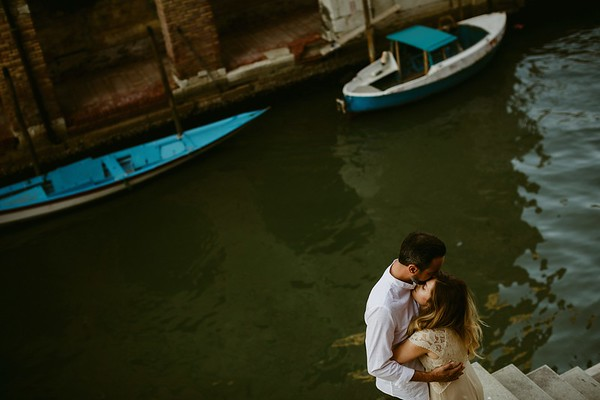 Elena & Nicola in Venice