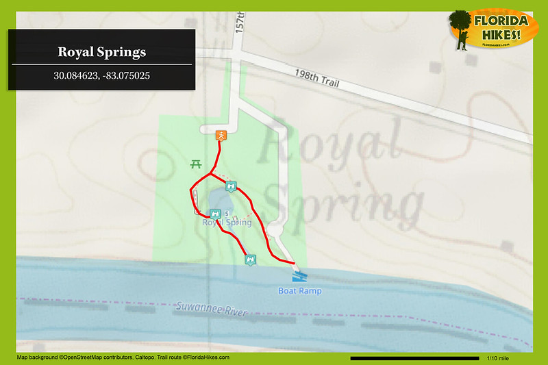 Royal Springs Trail Map