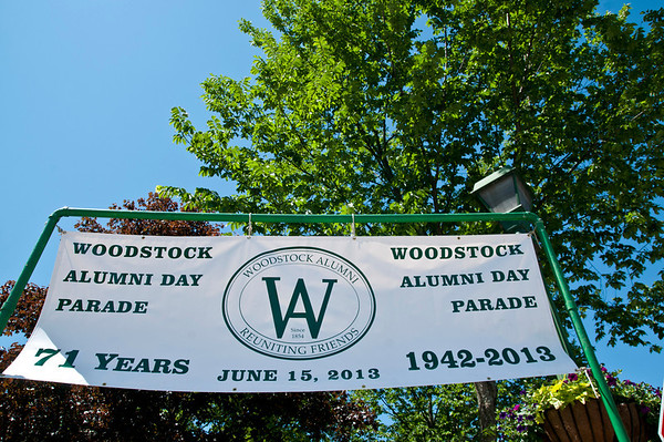Woodstock Alumni Parade