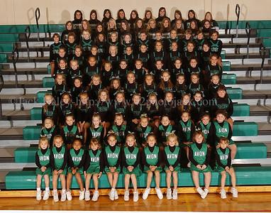 Avon Cheerleaders --Varsity to Flag