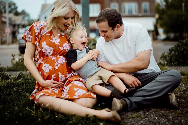Leanne and family
