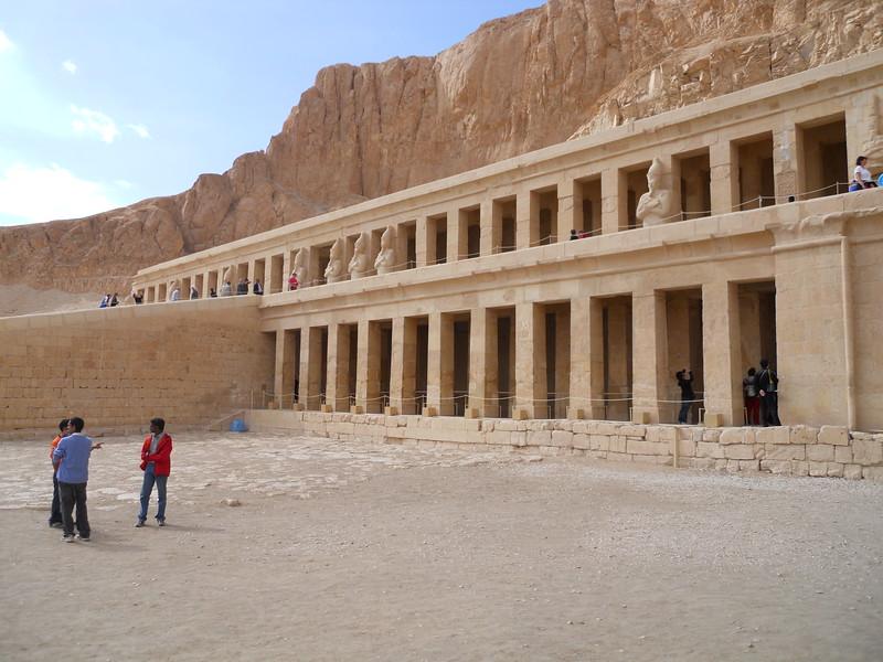 Temple of Queen Hatshepsut -- Kimberly Collins