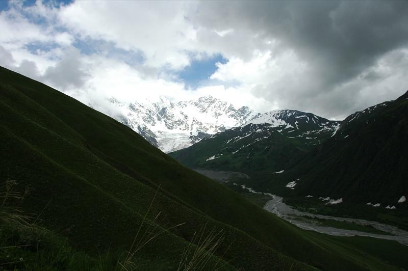 Mountain Scenic View - Svaneti, Georgia