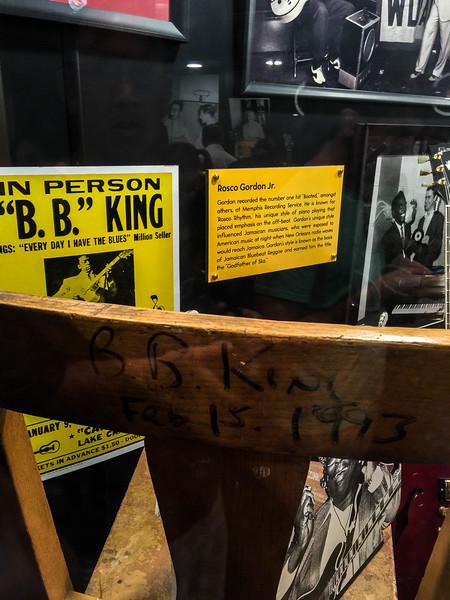 bb king sun studio memphis