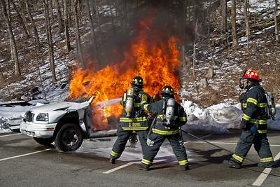 3-10-13 Car Fire Drill