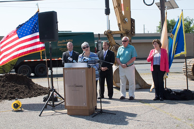 Camden County Westfield Avenue Groundbreaking Ceremony