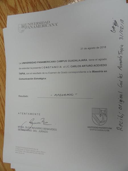 2018.08.31 Titulación Mtro. Comunicación E. - Carlos Arturo Acevedo Tapia