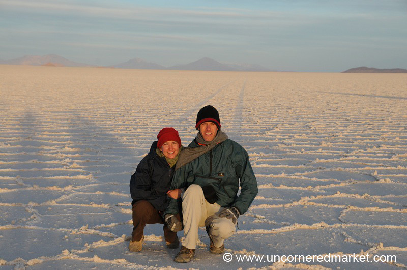 Frosty in the Desert - Salar de Uyuni, Bolivia
