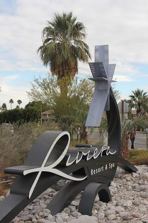 Glitz & Glamor Riviera Hotel Plam Springs CA