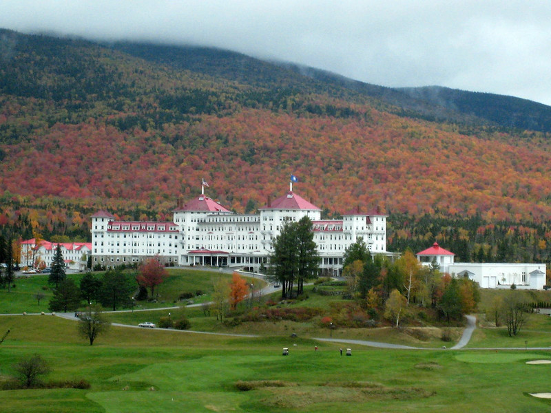 Mount Washington Hotel - Conway Scenic Railway Trip, New Hampshire