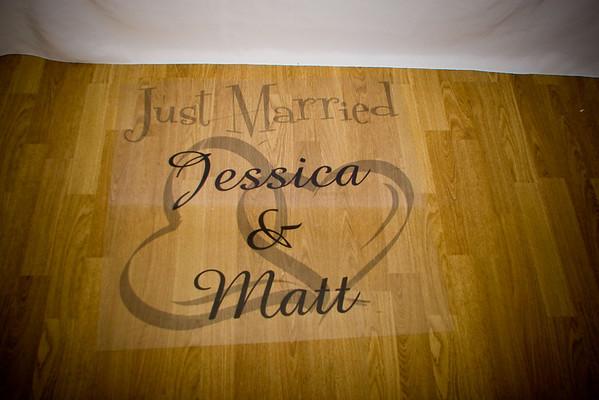 Reception - Jessica and Matt