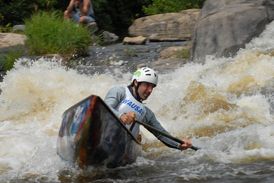 AP WWC: 2007 Open Canoe Whitewater Slalom Nationals (USA WI Wausau)