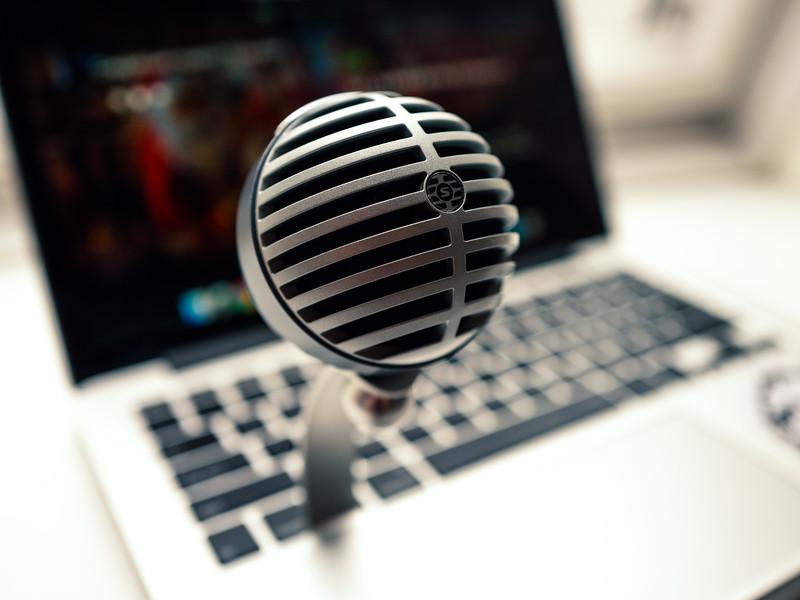 Shure MV5 portable microphone