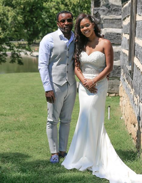 Shaq + Kay  Wedding