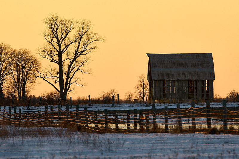 Rural Ontario Sunset
