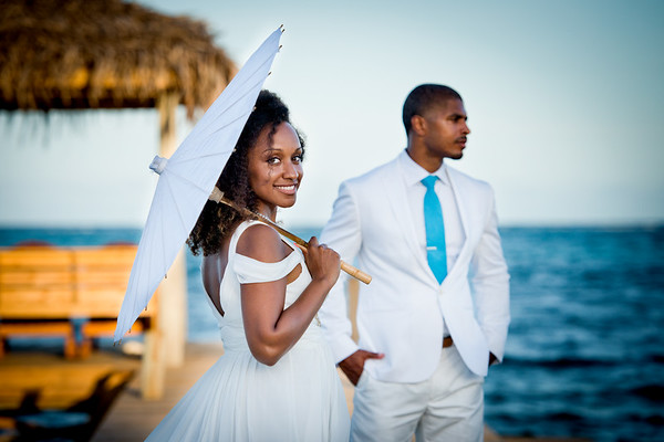 Kelly & Jolon - Wedding - Belize - 22nd of August 2017
