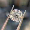 2.24ct Antique Cushion Cut Diamond, GIA M VS2 6