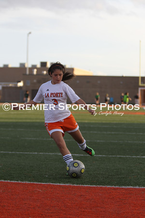 La Porte Girls JV Soccer vs Clear Falls 1/6/2012