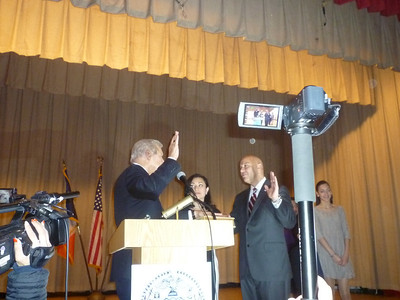 Inauguration Ceremony of Council Member Paul Vallone on January 4, 2014 in Bay Terrace, Queens