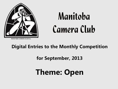 Digital Entries for September 2013 (Open Theme)