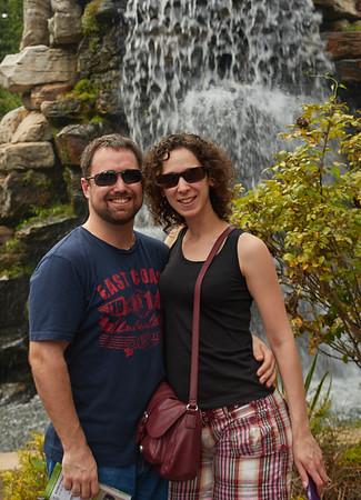 Sara and Paul visit the US