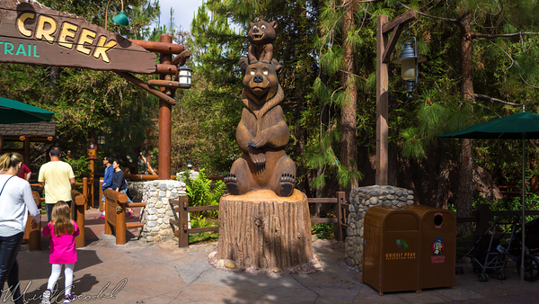 Disneyland Resort, Disney California Adventure, Grizzly, Peak, Redwood, Creek, Challenge, Trail