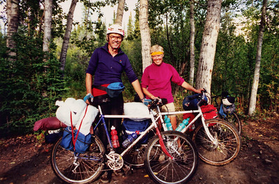 1990 Alaska Bicycle Tour