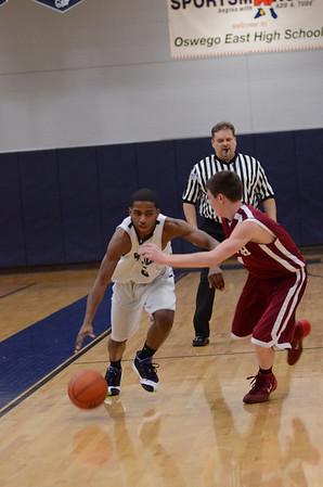Oswego East Boys Soph. Basketball Vs Plainfield No. 2014