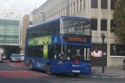 1113, HW58ATF, Bluestar, Bargates, Southampton.