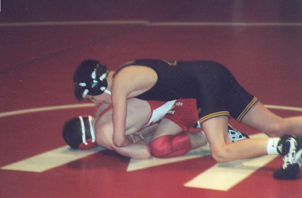 Cory's Freshman Wrestling