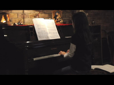 Christmas Recital Practice 2011