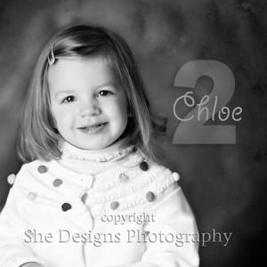 Chloe is 2