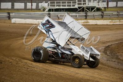 ASCS Sprint Cars - Dirt Oval - July 12, 2011