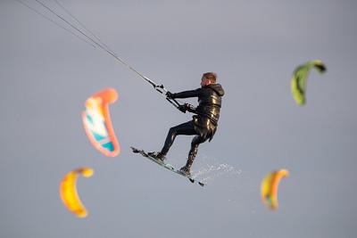 Kitesurfen / Maasvlakte II Slufter (19-12-2020)
