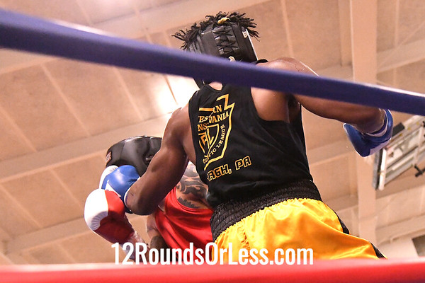 Bout #7: Kiante Irving, Blue Gloves, World Class BC, Ambridge, PA -vs- Jose Rodriguez, Red Gloves, Rodriguez BC, Tallmadge, 170 Lbs
