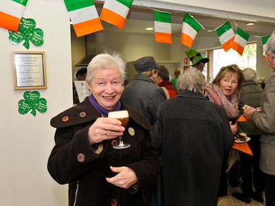 Margaret Brown's Irish Coffee Morning 2014