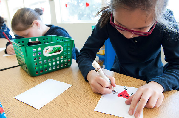 Grade 4 Valentines Cards for Alums