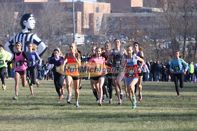 Girls Seeded - 2013 Foot Locker Midwest Regional