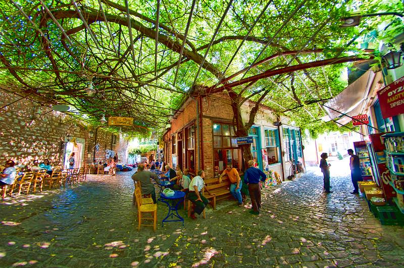 Agiasos Village (Αγιάσσος), Lesvos, Greece