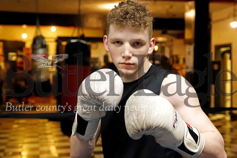 Butler Cubs boxer Isaac Guenther. Seb Foltz/Butler Eagle