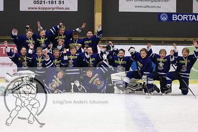 Vänersborg Cup U12, sluttspill