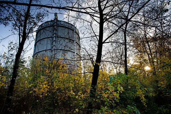 Ostrava na podzim