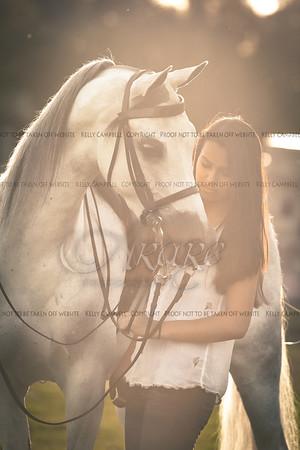 Tori and 2 horses
