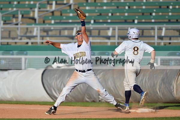 Varsity Baseball - Dewitt vs Grand Ledge - Diamond Classic Semi