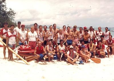 1987 Duke Kahanamoku LD Race 8-23-1987