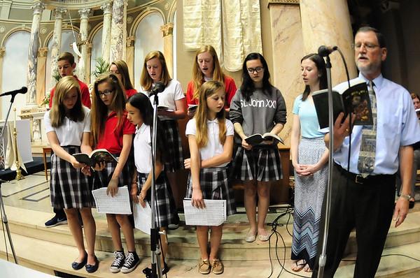 2015-05-17 St. John XXIII Student Mass