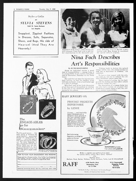 Daily Trojan, Vol. 57, No. 113, May 03, 1966