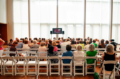 A Conversation With Former Secretary of State Madeleine Albright @ The Mint Museum 7-14-12 by Jon Strayhorn